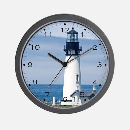 Yaquina Lighthouse Wall Clock