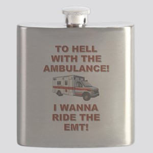 RIDE THE EMT! Flask