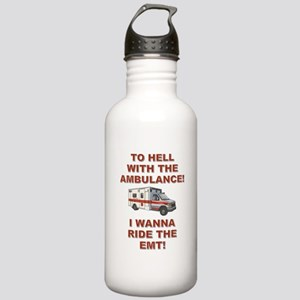 RIDE THE EMT! Stainless Water Bottle 1.0L