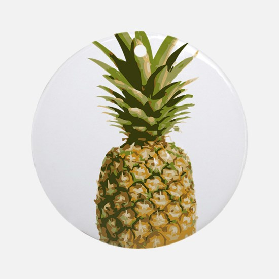 pineapple Ornament (Round)
