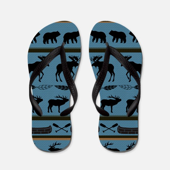 Elk Flip Flops