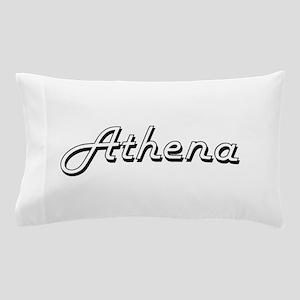Athena Classic Retro Name Design Pillow Case