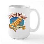 Sanibel Island Relax - Large Mug