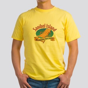Sanibel Island Relax - Yellow T-Shirt
