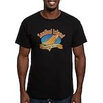 Sanibel Island Relax - Men's Fitted T-Shirt (dark)
