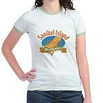Sanibel Island Relax - Jr. Ringer T-Shirt