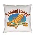 Sanibel Island Relax - Everyday Pillow