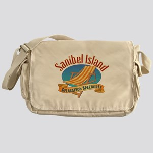 Sanibel Island Relax - Messenger Bag