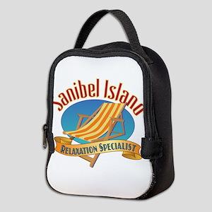 Sanibel Island Relax - Neoprene Lunch Bag