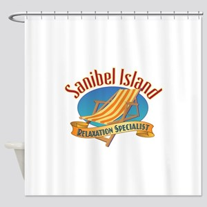 Sanibel Island Relax - Shower Curtain