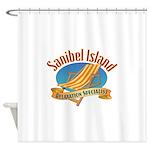 Sanibel Island Relax - Shower Curtain