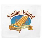 Sanibel Island Relax - King Duvet