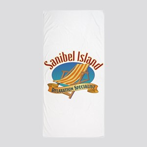 Sanibel Island Relax - Beach Towel