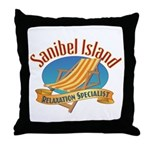 Sanibel Island Relax - Throw Pillow