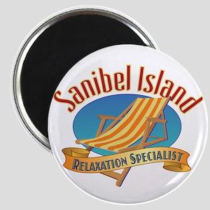 Sanibel Island Relax - Magnet