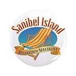 Sanibel Island Relax - Button