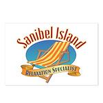 Sanibel Island Relax - Postcards (Package of 8)
