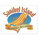 Sanibel Island Relax - Small Poster