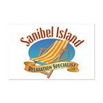 Sanibel Island Relax - Mini Poster Print