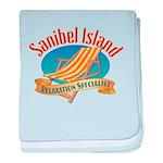 Sanibel Island Relax - baby blanket
