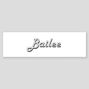 Bailee Classic Retro Name Design Bumper Sticker