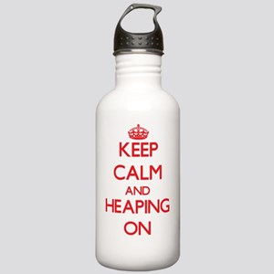 Keep Calm and Heaping Stainless Water Bottle 1.0L
