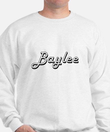 Baylee Classic Retro Name Design Sweatshirt