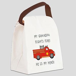 My Grandpa... Canvas Lunch Bag
