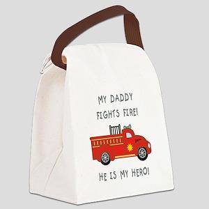 My Daddy... Canvas Lunch Bag