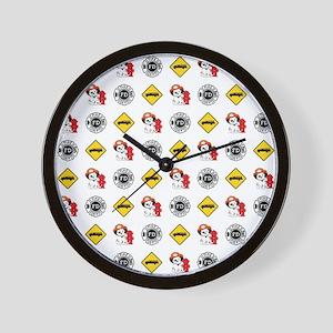 DALMATION PATTERN Wall Clock