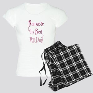 Namaste In Bed All Day Women's Light Pajamas