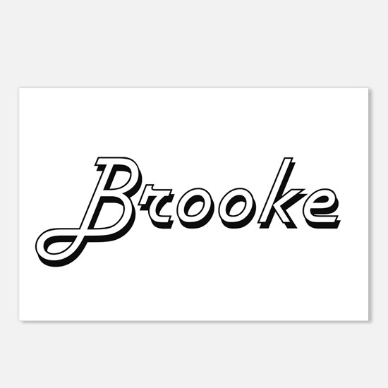 Brooke Classic Retro Name Postcards (Package of 8)