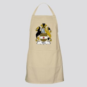 Toby Family Crest BBQ Apron