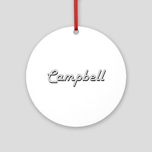 Campbell Classic Retro Name Desig Ornament (Round)
