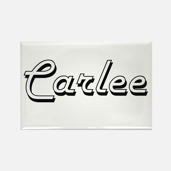 Carlee Classic Retro Name Design Magnets