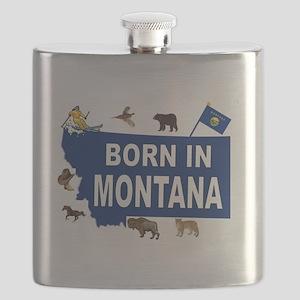 MONTANA BORN Flask