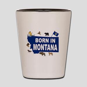MONTANA BORN Shot Glass