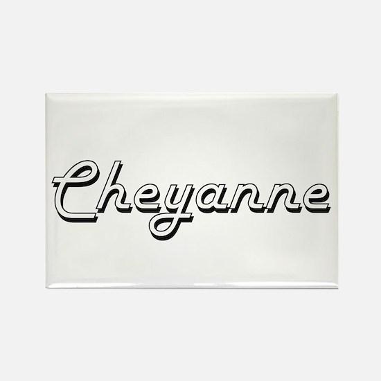 Cheyanne Classic Retro Name Design Magnets