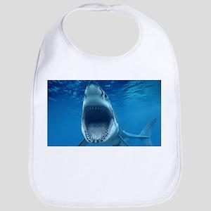 Big White Shark Jaws Bib