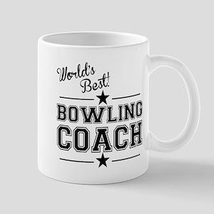 Worlds Best Bowling Coach Mugs