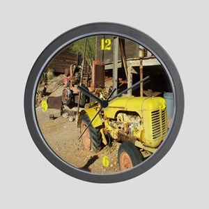 Old Tractor, Wall Clock