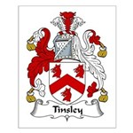 Tinsley Family Crest Small Poster