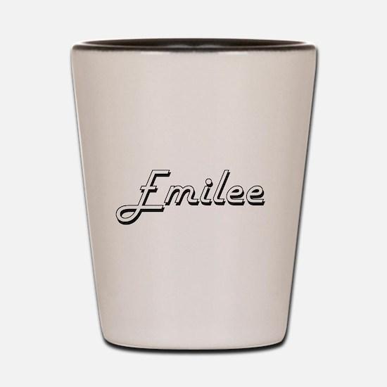 Emilee Classic Retro Name Design Shot Glass