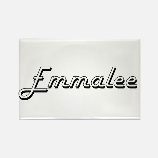 Emmalee Classic Retro Name Design Magnets