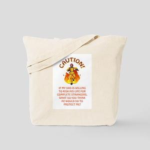 CAUTION/DAD Tote Bag