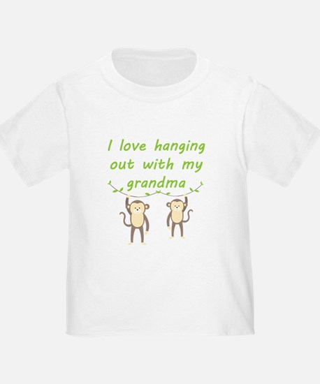 I Love Hanging Out With My Grandma T-Shirt