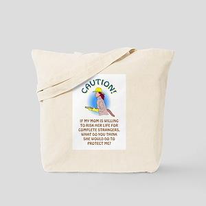 CAUTION! Tote Bag