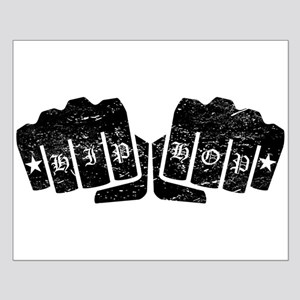 Hip Hop Knuckle Tattoo (Distressed) Posters
