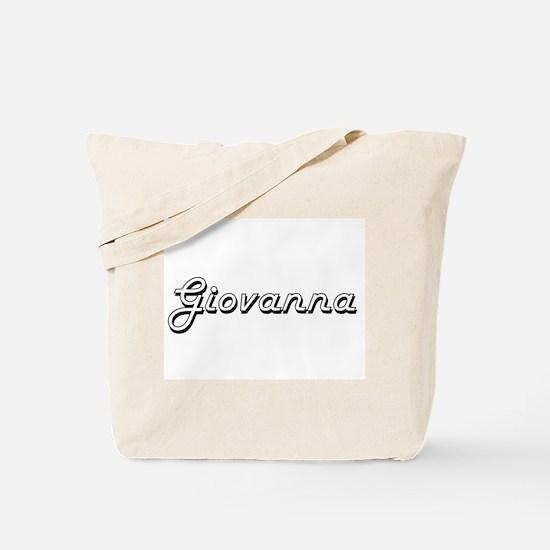 Giovanna Classic Retro Name Design Tote Bag
