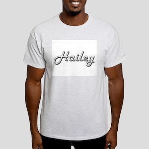 Hailey Classic Retro Name Design T-Shirt